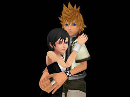 Don't be afraid Xion,I'll protect you. by PersempreKH