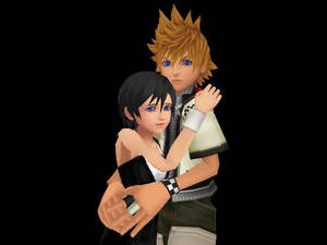 Don't be afraid Xion,I'll protect you.