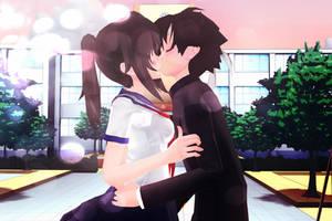 Yandere-chan and Budo Masuta=Yuta by PersempreKH