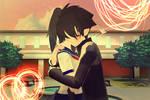 Yuta hug