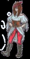 Me as a pirate by Hina-Monoko