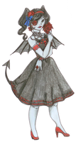 Bat - Lady by Hina-Monoko