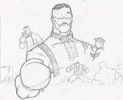 Super SF4 Dudley by bam217