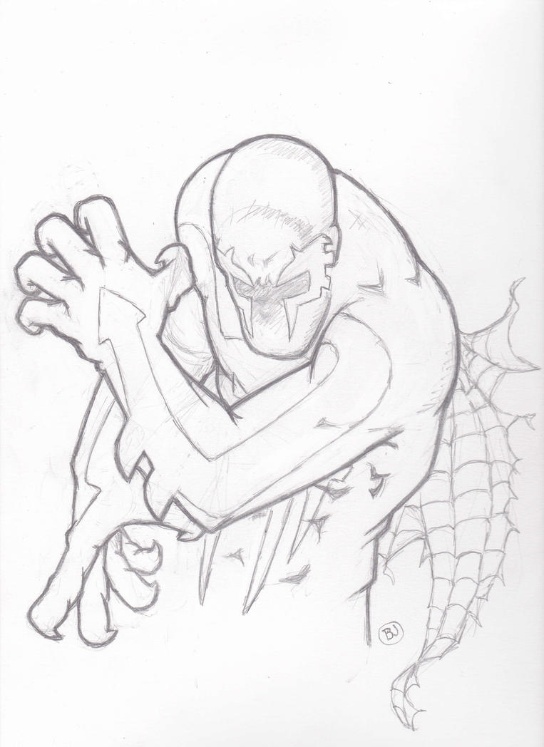 Spider man 2099 by bam217 on deviantart for Spider man 2099 coloring pages