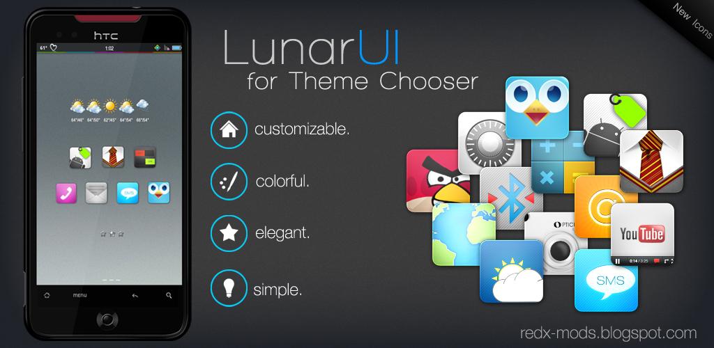 LunarUi - Theme Chooser 3.5.4 by R3D-X7 on DeviantArt