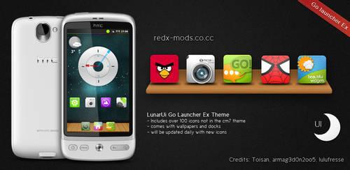 LunarUi - Go Launcher Ex by R3D-X7