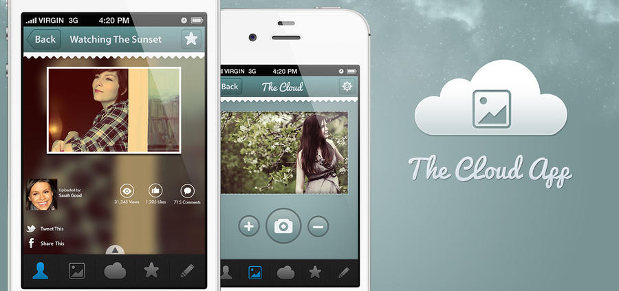 The Cloud App Design by R3D-X7