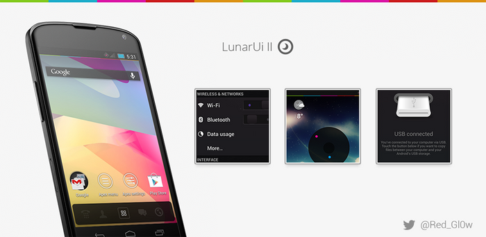 LunarUi - CM10 Theme (Rebirth) [Beta 1]