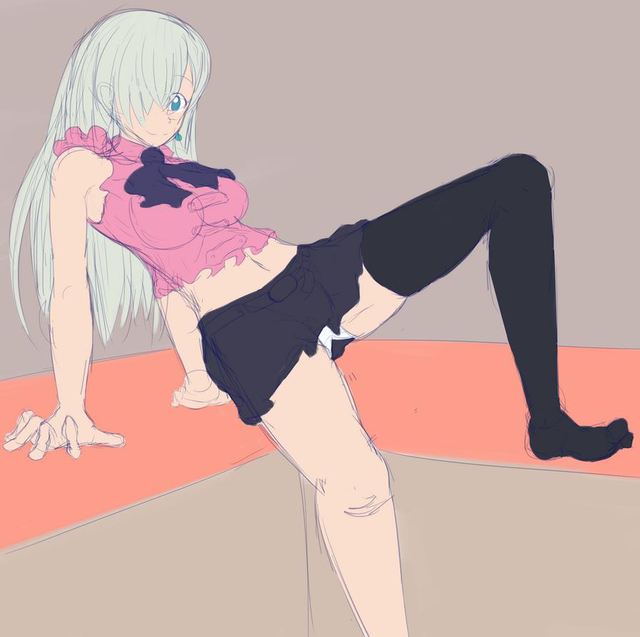 356 Pre A >> Elizabeth (Nanatsu no Taizai) sketch by Pokemuffin on DeviantArt