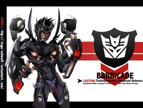 TF Movie -Barricade-