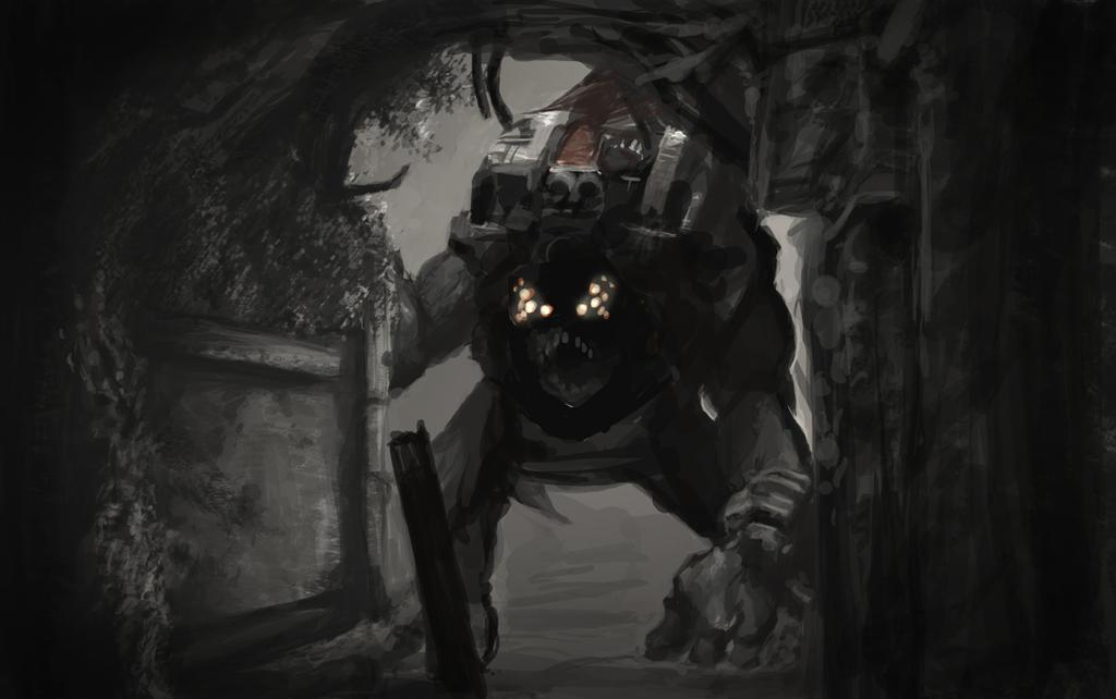 Gears Of War BRUMAK SPEED