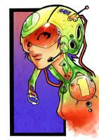 Kid Notorious Psychotaku Color by Meiphon