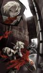 Futuristic Alacrity VS ROBO-T by Meiphon