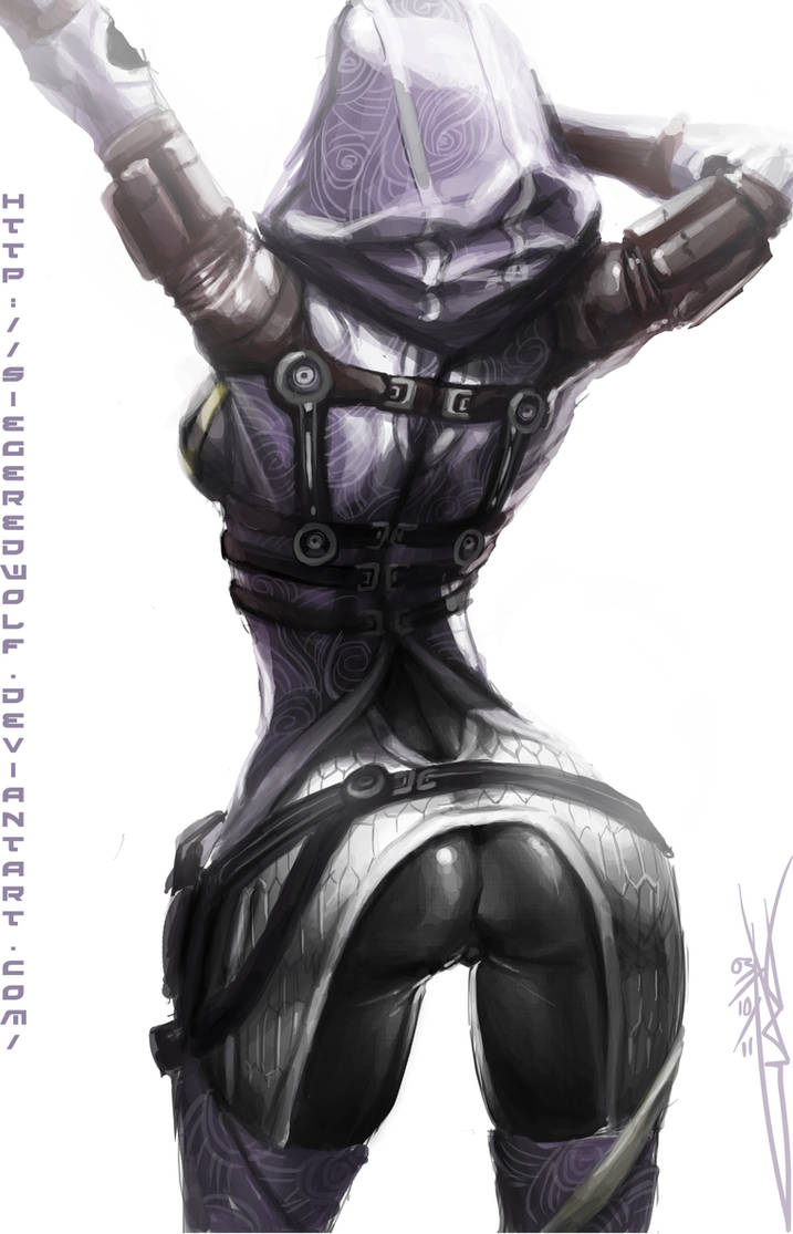 Creative Tali'Zorah Title by Meiphon