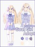 [OPEN] Goat Girl Adopt by ksenichaan