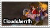 CloudxAerith Stamp by PianoxLullaby