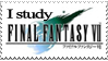 I Study FFVII Stamp by PianoxLullaby