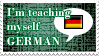 Teaching Self German Stamp by PianoxLullaby