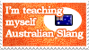 A. Slang Self Taught Stamp by PianoxLullaby