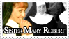 Sister Mary Robert Stamp by PianoxLullaby