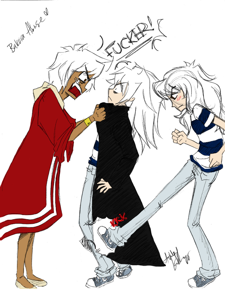 Yami Bakura Abuse by PianoxLullaby