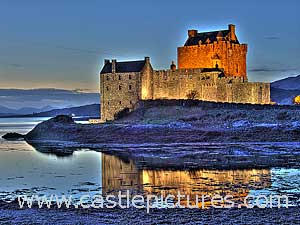 Eilean Donan Castle HDR photo