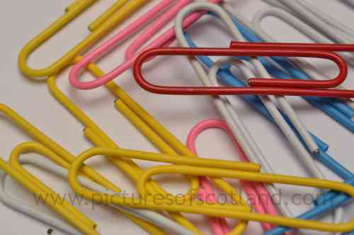 Paper clips by photogold