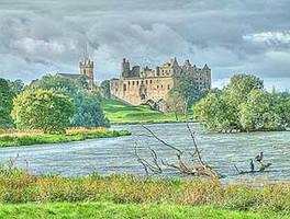 32 bit image Linlithgow palace