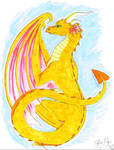 Citrine Dragon