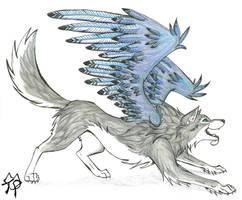 Jenn of Blue Wings by CaptainMorwen