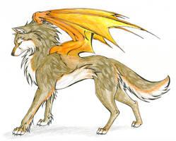 Karenn of Orange Wings by CaptainMorwen