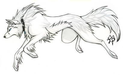 Morwen Wolf by CaptainMorwen