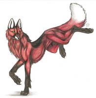 Maned Wolf by CaptainMorwen