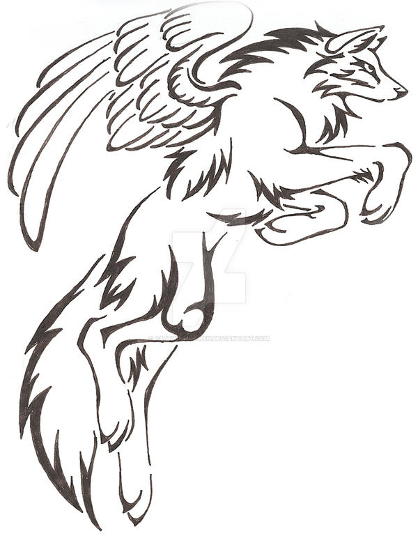 08400ebc1b5e0 Wolf Stars by CaptainMorwen on deviantART Tattoos t