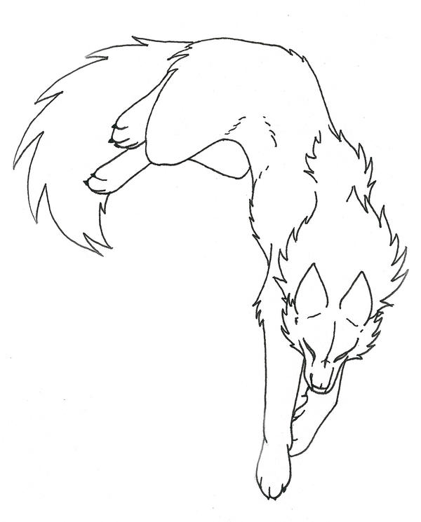 Wolf Lineart : Wolf lineart images reverse search
