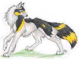 Brackenclaw Wolf by CaptainMorwen