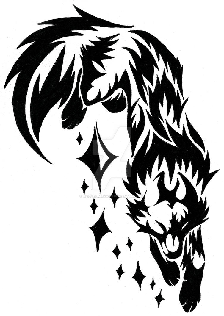 Squall Tattoo Concept by CaptainMorwen