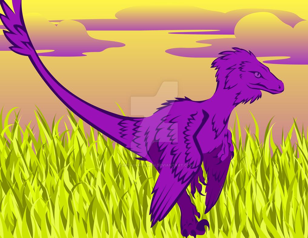 Vector Raptor by CaptainMorwen