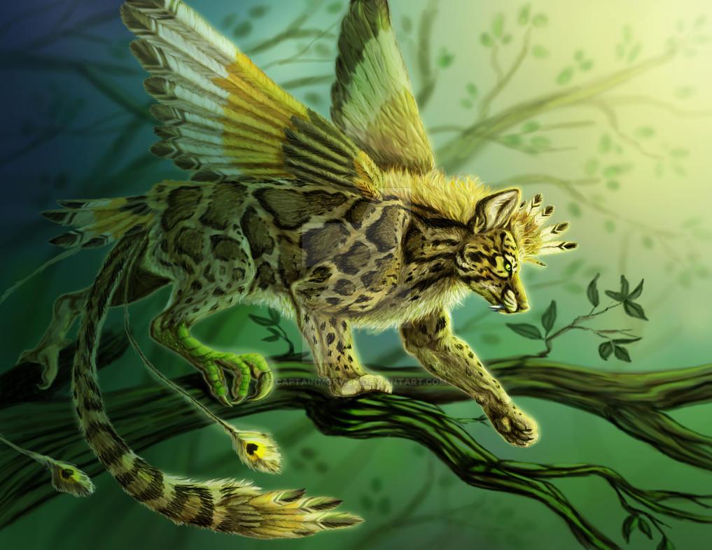 Panthera Dromaeoneofelis Crocuta by CaptainMorwen