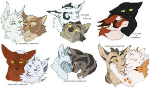 ThunderClan couples