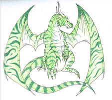 Joel the Jade Dragon by CaptainMorwen