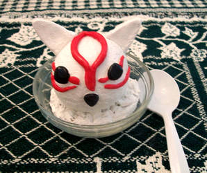 Decor Okami  Ice Cream by RanulfKitty