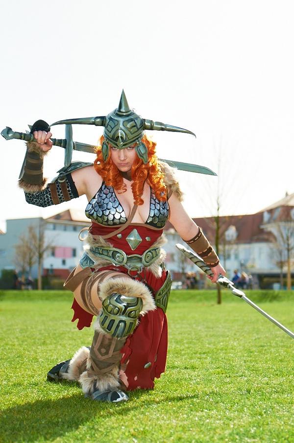 Diablo 3 - Barbarin by Zynicus