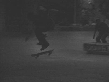 South Bank Skateboarder