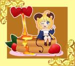 Chibi Honey Pancake by lemon-mochi