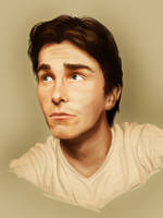 Christian Bale by Prinzack