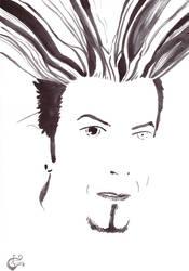 David Bowie circa 1997 by SergiyKrykun