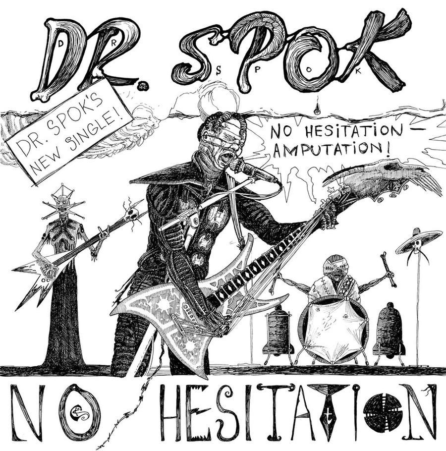 Dr. Spok BW-version by SergiyKrykun