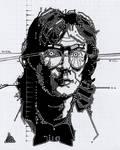 William Gibson by SergiyKrykun