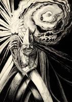 The Black Abbot by SergiyKrykun